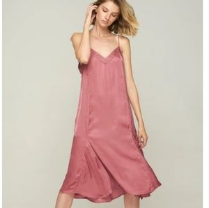 Terracotte Dress on thin straps size S